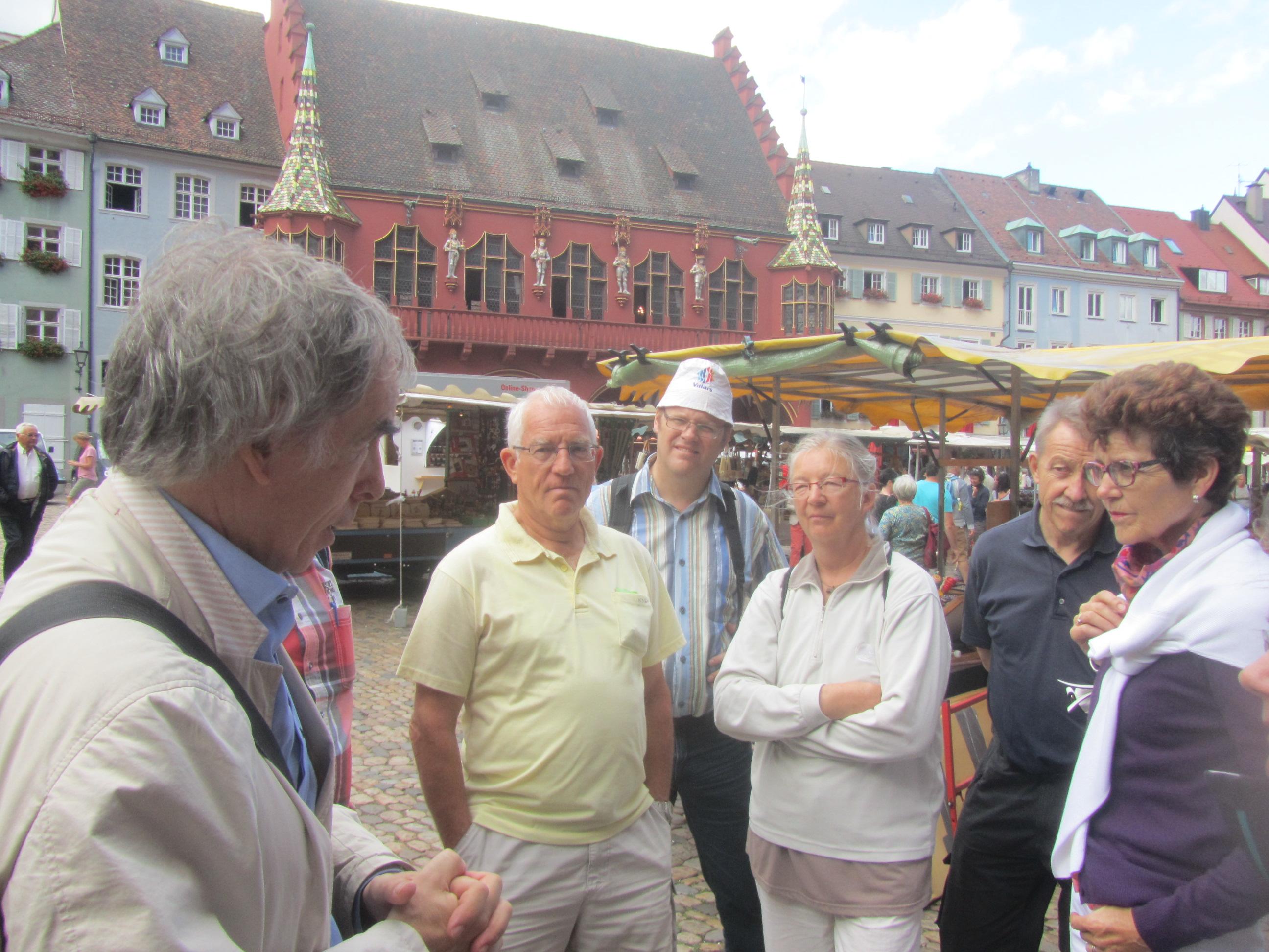 Führung in der Altstadt mit speziellem Fokus auf der Geschicht und städtebaulichen Weiterentwicklung