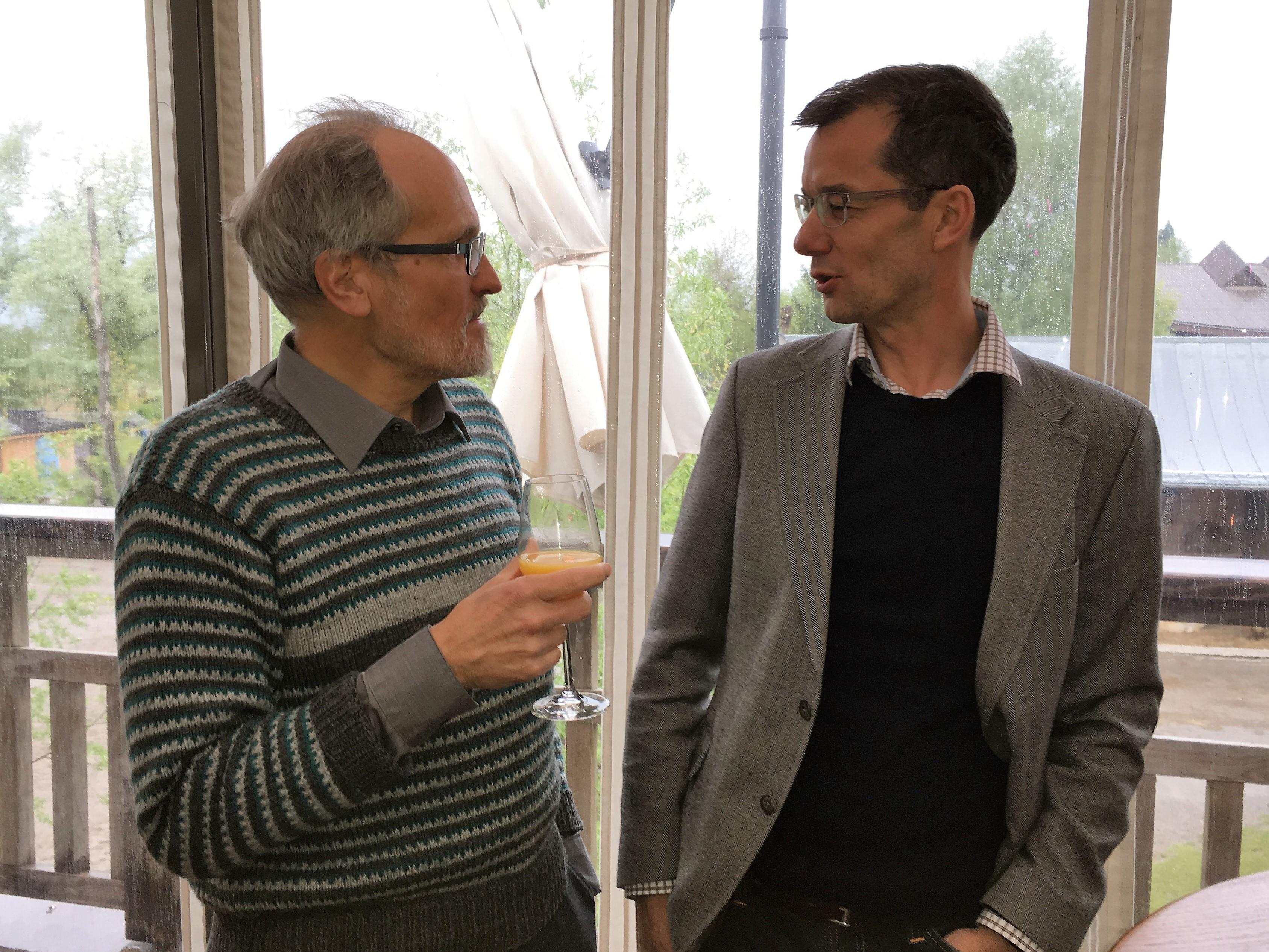 Von alt-Stadtrat zu amtierendem Stadtrat: Matthias Gfeller Winterthur und Thomas Furrer Rapperswil-Jona